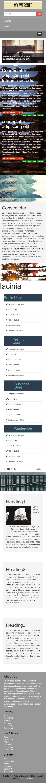 College Parallax Website Template