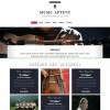 music bootstrap templates free download