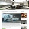 Resort blog page design