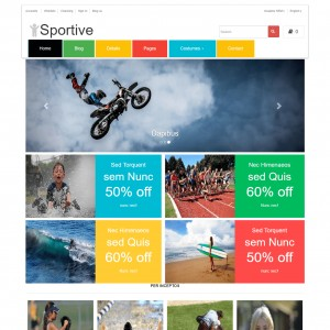 Sports Bootstrap Website Template Download Free