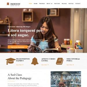 Teacher Website Template - Template On Web