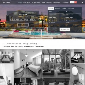 Hotel Restaurant Template   Download Free   Responsive Web Theme