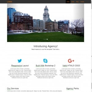 Black White | Bootstrap | Download | Website Template | Free | Web Theme