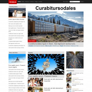 News Responsive Bootstrap Theme | Download Free