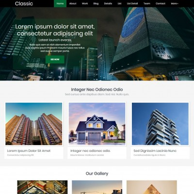 Bootstrap Real Estate Template Free Templateonweb