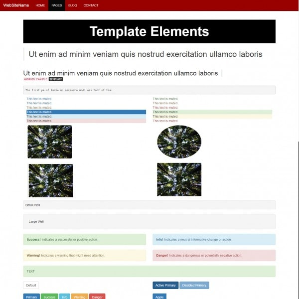 Free small business template bootstrap html elements cheaphphosting Images